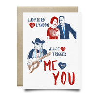 Lone Star Love Stories Greeting Card - Cards