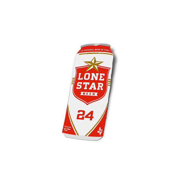 Lone Star Can Sticker