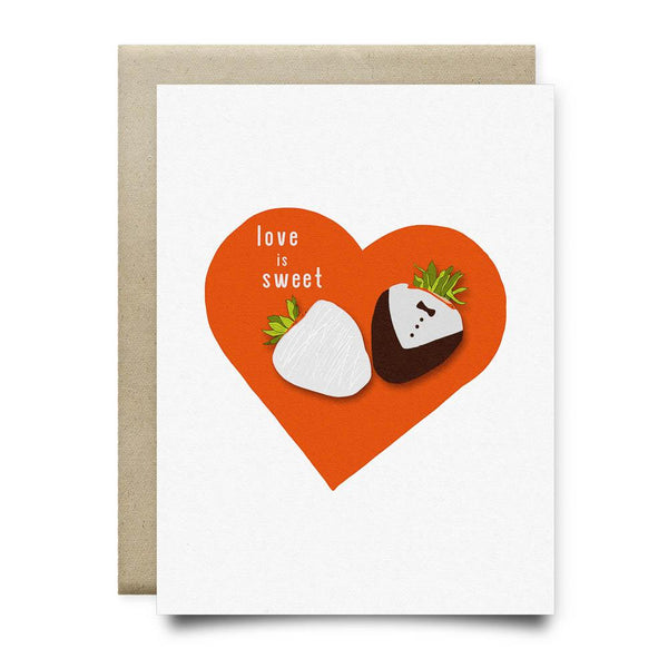 Love is Sweet Greeting Card - Cards