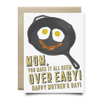 Mom Makes it Seem Over Easy Mother's Day Card