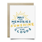 Memories of Sunshine Sympathy Card - Cards