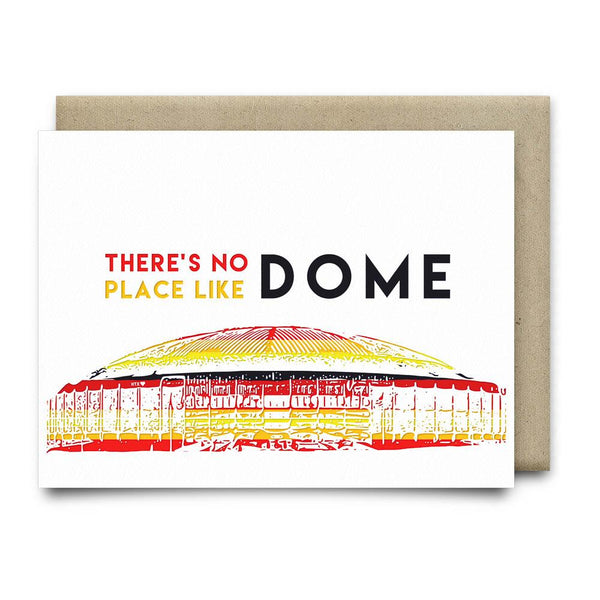 Theres No Place Like Dome | Astros Vintage Rainbow - Cards