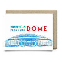 Theres No Place Like Dome | Oilers Luv Ya Blue - Cards