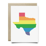 Texas Pride Greeting Card - Cards