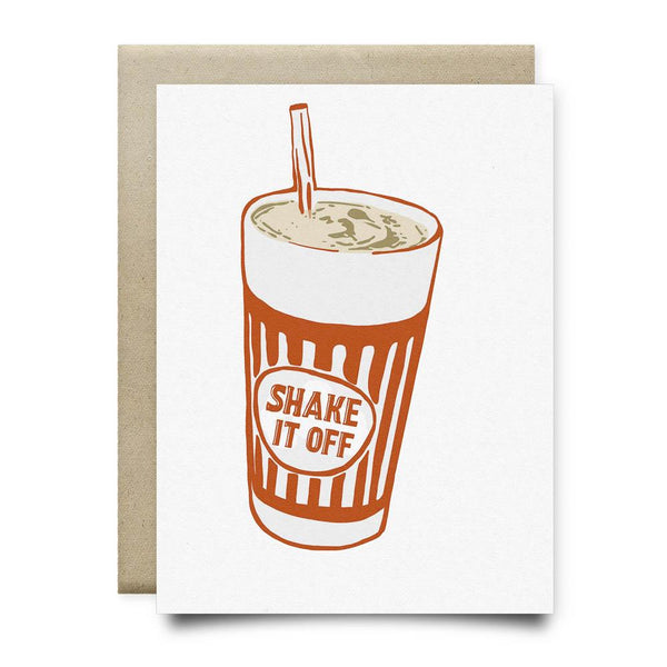 Shake it Off Greeting Card - Cards