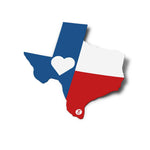 Texas Flag Sticker