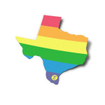 Texas Pride Sticker