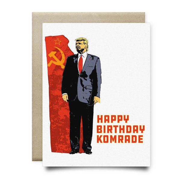 Happy Birthday Komrade - Cards