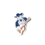 Willie Nelson Sticker
