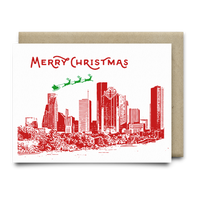 Merry Christmas from Houston Christmas Card