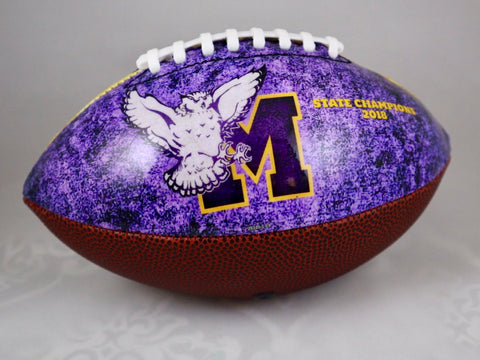 "Monticello Football - 2018 (11"") Regulation Size"