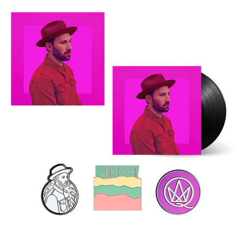 CRAZYTALK Vinyl + Enamel Pin Set + Lithograph