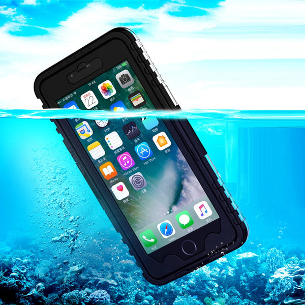 Waterproof iPhone 6 6S Plus Case Heavy Duty For Swimming Diving