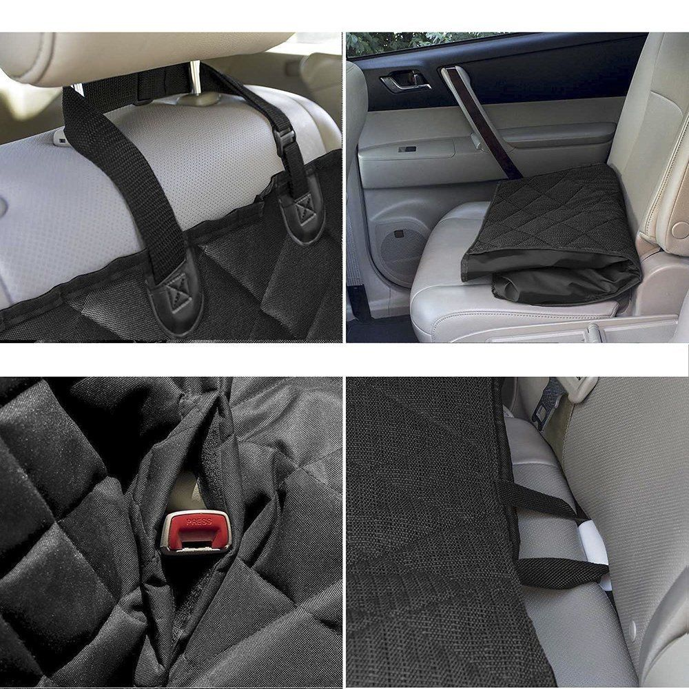 Car Bench Seat Covers >> Pet Car Suv Van Back Rear Bench Seat Cover Waterproof Hammock For