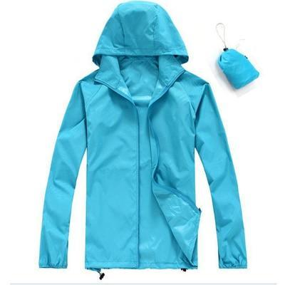 Waterproof Jacket Coat For Camping Hiking Unisex