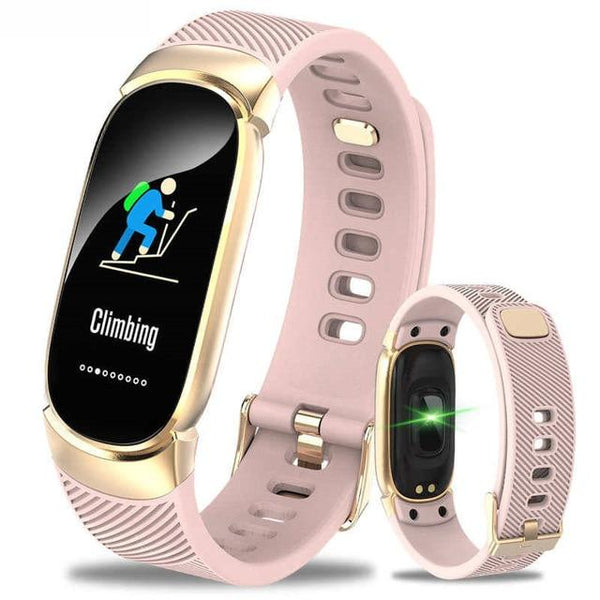 Smart Watch For Women Waterproof Bracelet Band Bluetooth Heart Rate Monitor Fitness Tracker