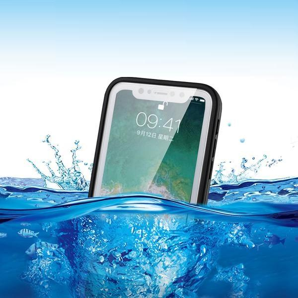 Waterproof Phone Case For iPhone X 8 7 Plus 6 6S 5 5S XR XS Plus Full Protection