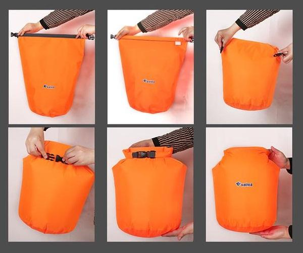 Waterproof Dry Backpack Boat Bag Swimming Rafting Kayaking