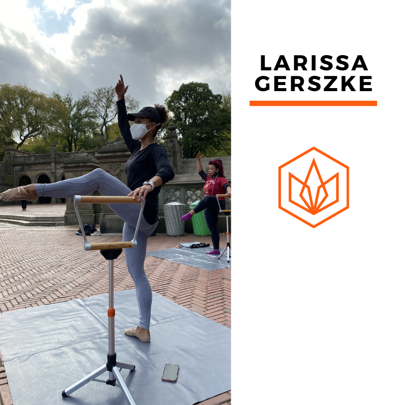Ballet Barre with Larissa | 12/19