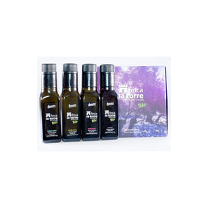 Finca la Torre Tasting Pack 4 x 100 ml - Monovarietals collection 4x100 ml