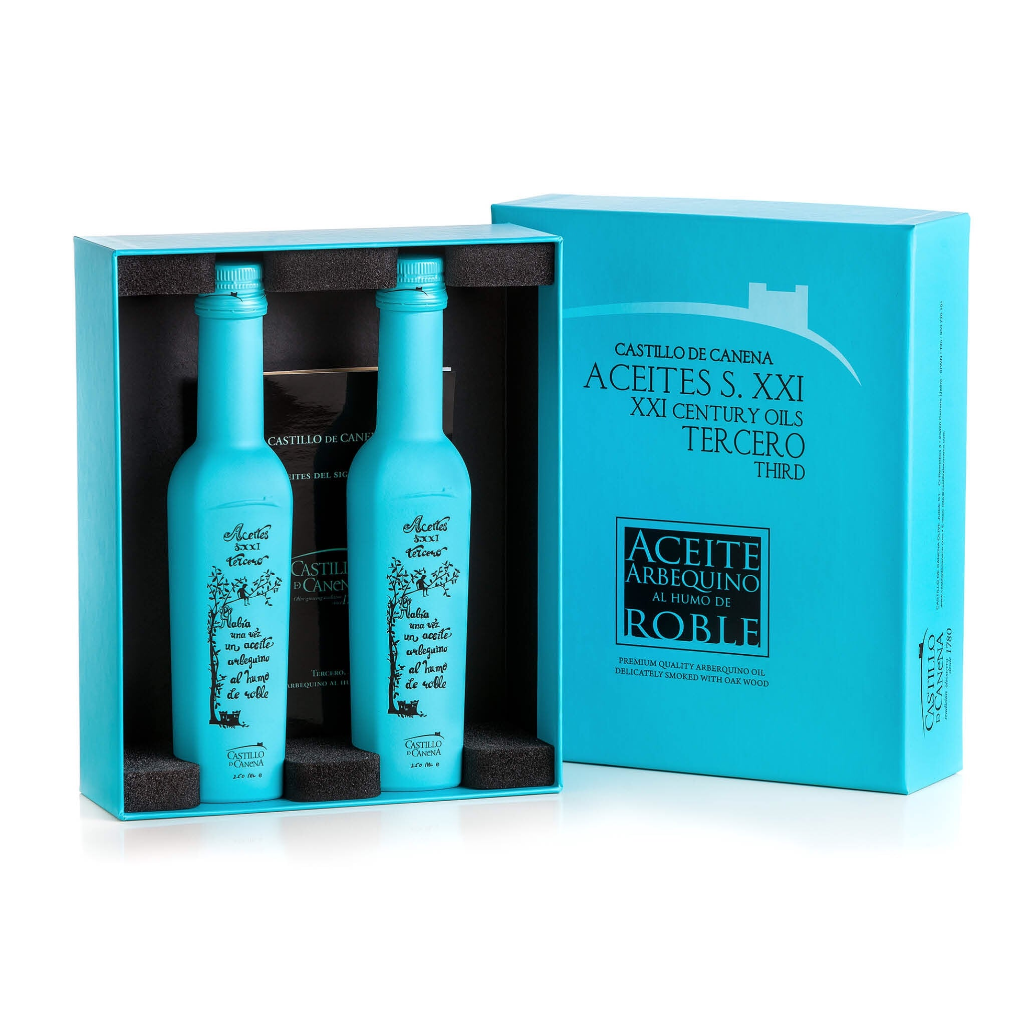 Canena's Smoked Ollive Oil Gift Set