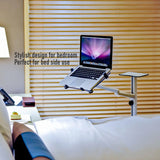 Adjustable Laptop / Mobile Floor Stand and Mouse Table