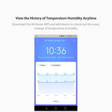 Xiaomi Multifunctional Smart Digital Clock Temperature Humidity Sensor BT Wireless Thermometer