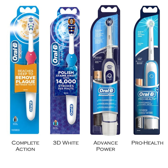 Oral B Battery Operated Toothbrush