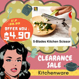 5-Blades Kitchen Scissor