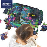 MiDeer 280pcs Animal-Shaped Puzzle, Dinosaur Elephant Puzzle