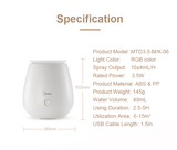 Midea Air Humidifier with Night Light MTD3.5-M/K-06