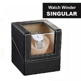 Single Watch Winder / Watch Winder PU Leather Case