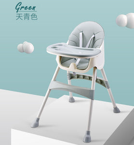 Convertible Baby High Chair with Storage