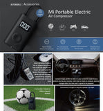 XIAOMI Electric Portable Air Pump for Cars, Ball, Bicycle / Tire Inflator with LED Light