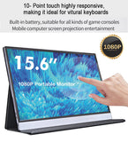 "15.6"" Touch Screen Portable Monitor  for Phones Laptops Gaming Dual Monitor"