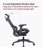 Ergonomic Office Executive Chair Series Adjustable Armrest - (Home Office Chair)