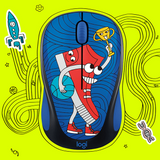 DOODLE Collection M238 Wireless Mouse Mice