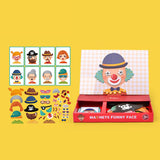 MiDeer Magnet Activities, Magnets Dressing, Magnets Funny Face, Magnets Traffic