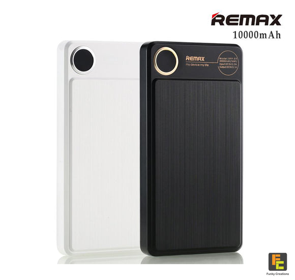 REMAX Kooker RPP-87 Single USB Output 10000mAh Power Bank Charger for iPhone/ Samsung/ LG