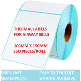 Thermal Printer GP1324D for Shipping Labels, Waybill barcode label sticker No Ink.