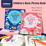 MiDeer Drawing Colouring Book 80 Pictures for Boys and Girls