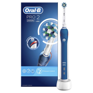 ORAL B PRO 2 (2000N Cross Action, 2000W 3D White)