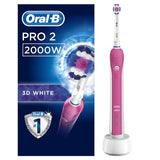 ORAL B PRO 2 (2000N Cross Action, 2000W 3D White) - Export Set
