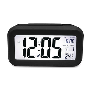 Smart Digital Clock With Date, Day and Temperature Display