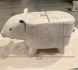 Animal PVC Stool Children Cute Elephant Hippo Pig Stool