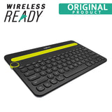 Logitech K480 Bluetooth Keyboard Multi-Device Switch Typing