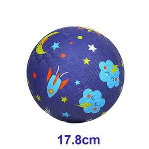 "MiDeer Rubber Ball 5""OR 7"" Ball, Kids Ball. Ball comes with Free Pump"