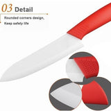 <AS IS> Ceramic Knife Set 6in1