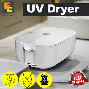 Mini UV Dryer with UV function, Sterilization Travel Dryer Box