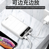 Dual Powerbank Pisen 30000mAh Dual USB (New Version - Support 3 types of input)